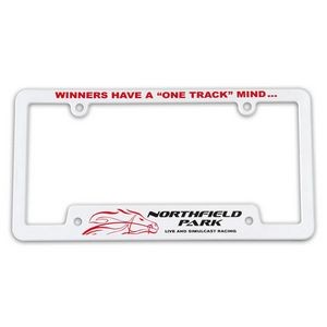 Corner View License Plate Frame