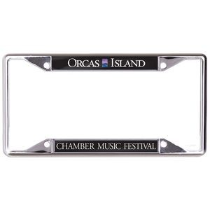 "Acrylic License Plate Frame 6.25"" x 12.25"""