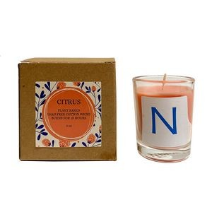 Eco-Friendly Citrus Plant Based Candle